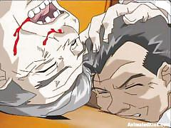 Anime cuties gang banged and traumatized