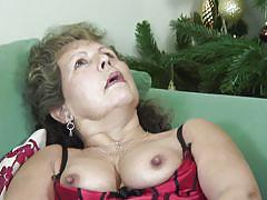 granny, big ass, solo, masturbation, stockings, big boobs, couch, christmas, brunette, rubbing pussy, shaved pussy, squeezing boobs, natural tits, olivia ann, mature eu, mature money