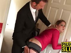 Leah lixx gets her tight ass pounded