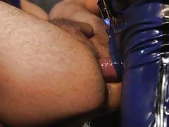 Rope bondage with anal for angel duran