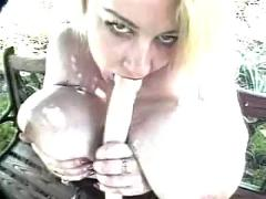 Cindy gaynor in the garden