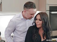 milf, big ass, big boobs, pussy licking, brunette, anal fingering, cheating wife, undressing, sucking tits, toe sucking, real wife stories, brazzers network, lela star, keiran lee