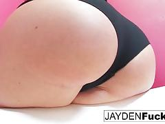 Hot jayden's bathtub solo