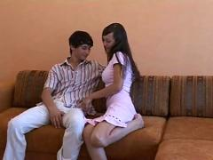 Russian amateur couple