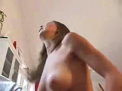Amateur creampie video hot youg brunette chick