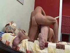 Mature chambermaid fucked by young guy