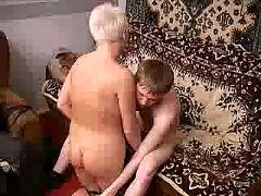 Russian mature and boy 256