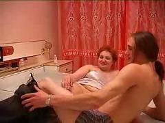 Russian mature and boy 231
