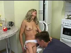 Russian mature and boy 249