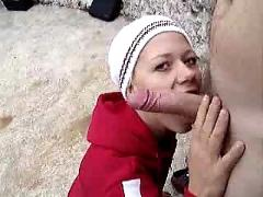 Kahti blowjob outdoor