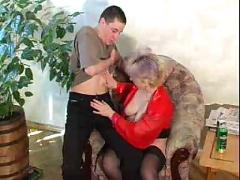 Russian mature and boy 204