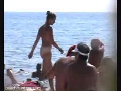 Pussy-hidden cam-beach
