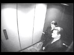 Hidden cam - blowjob in elevator