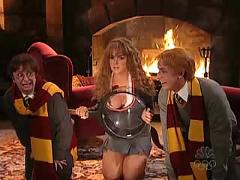 Lindsay lohan as sexy hermiona from harry potter