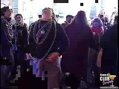 Tits flashing mardi gras
