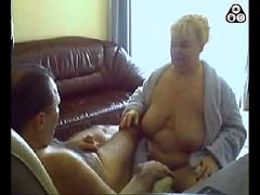 Hungarian couple on webcam