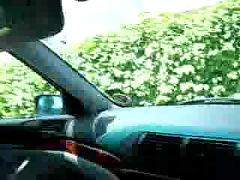 Outdoor bj on a car