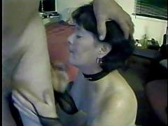 Divorced mom gets stoned..forced to lick ass
