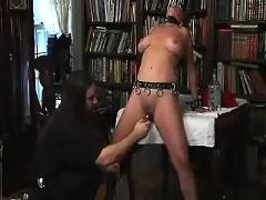 Bound clamped and electrocuted