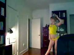 Webcam dance
