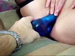 Wife with double dildo