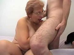 Russian granny and boy 141