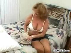 Redhead granny milf porn