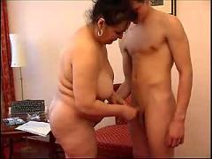 Russian mature and boy 124