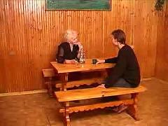 Russian granny and boy 080