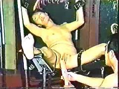 Asian fetish (bondage, fist, squirt)