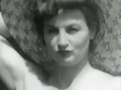 big tits, fetish, vintage, black and white, 1940s, 1940