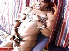 shemale, big balls, big lips, blowjob, handjob, ebony, interracial, small tits, cumshot, hairy, pretty face, bra, black shemale stars, shemax network