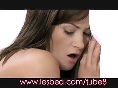 Lesbea sensual and glamorous women