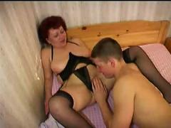 Russian mature and boy 052