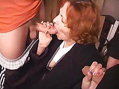 Moden kvinde og 2 unge fyre - 6 (danish title)