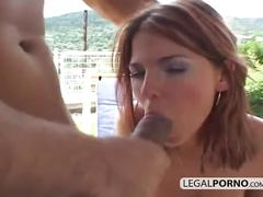 Great outdoor interracial foursome nl-4-02