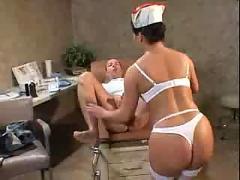 Nasty nurse katja kassin ( anal hardcore amateur )