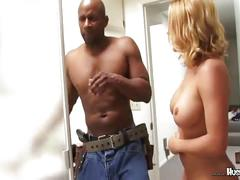 Krissy lynn's pussy pounded in the shower cabin