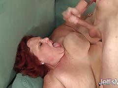 hardcore, doggystyle, cumshot, cum, fat, redhead, bbw, mature, cum shot