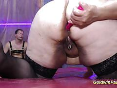 Goldwin pass bbw puts on a wild show