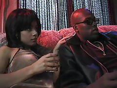 Hairy black snatch - scene 7