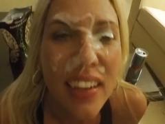 Cum facial for me