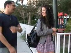 Schoolgirl gets knocked-up
