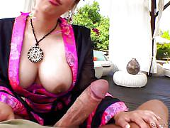 Asian tigress starves for cock @ bonus-rocco's world asian attack