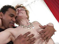 granny, black, interracial, redhead, big cock, blowjob, saggy, black stockings, granny ghetto, fame digital, georgina t, franco roccaforte