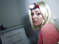 blonde, deepthroat, amateur, blowjob, from behind, pov, redneck chick, i know that girl, mofos network, jenna ivory