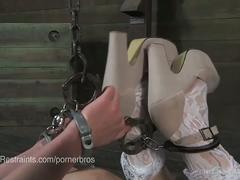 Coral aorta's handcuff bondage