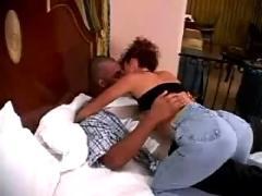 Sexy mature milf wife black interracial love