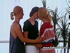 Private lesbian scene