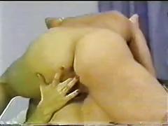 Vintage hemorphidite bareback